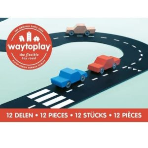 circuit-voiture-waytoplay-12-pieces-ringroad-enfant