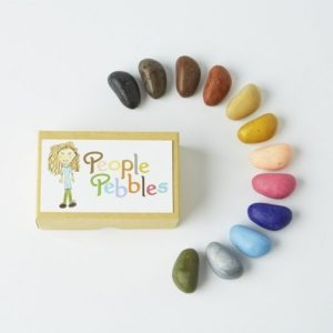 coffret-12-crayon-rocks-people-pebbles-dessin enfant-min