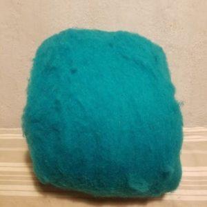 laine-merinos-cardée-turquoise-16019-