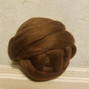 laine-merinos-peignée-extrafin-marron-222