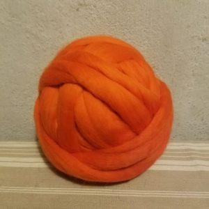 aine-merinos-peignée-extrafin-orange-226