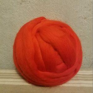 laine-merinos-peignée-extrafin-rouge-230