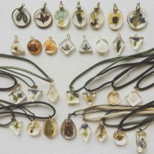 Colliers trésors de la nature