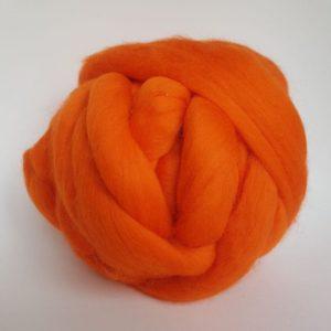 laine-merinos-ruban-peigné-orange-226