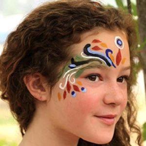 maquillage-naturel-enfant-argile-déguisement-natural-earth-paint