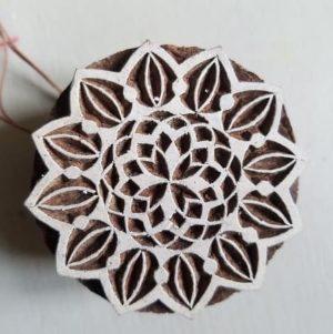 tampon-artisanal-bois-blockwallah-mandala-enfant