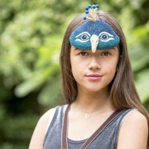 deguisement-naturel-paon-enfant-sew-heart-felt-peacock-laine-waldorf