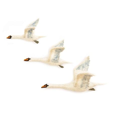 sew-heart-felt-vol-oiseau-cygnes-flying-swan