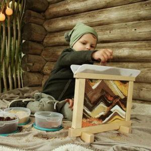 fenetre-creative-art-therapie-enfant-sensoriel-materiaux-naturelles