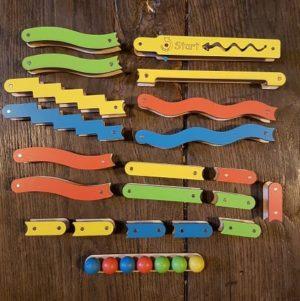 set-rampes-magnétiques-circuit-billes-bois-stem-jouet