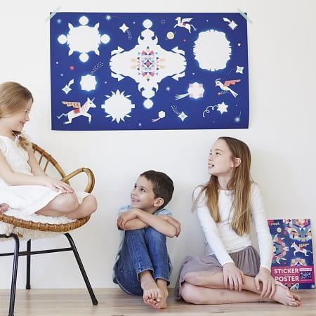 gommettes-activité-enfant-poppik-constellation-licorne-decoration