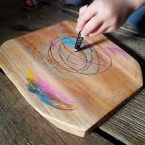 ardoise-tablette-en-bois-velleda-reggio-montessori-waldorf-crayon-aquarellable