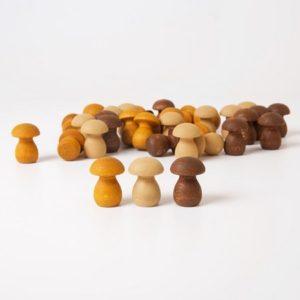 grapat-mandala-champignon-loose-part-bois-reggio-montessori