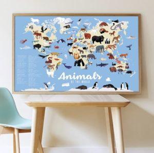 poppik-animaux-loisirs creatifs- activité manuelle - stickers - gommettes
