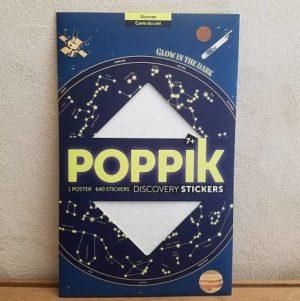 poppik-constellation-phosphorescent-creatifs- activité manuelle - stickers - étoile-