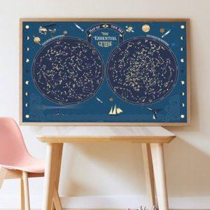 poppik-constellation-phosphorescent-creatifs- activité manuelle - stickers - gommettes