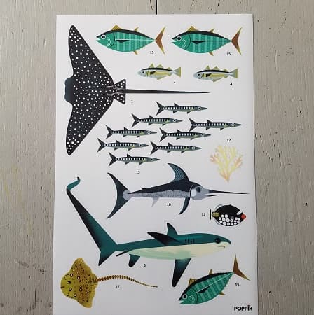 poppik-ocean-loisirs creatifs- activité manuelle - stickers - gommettes-enfant