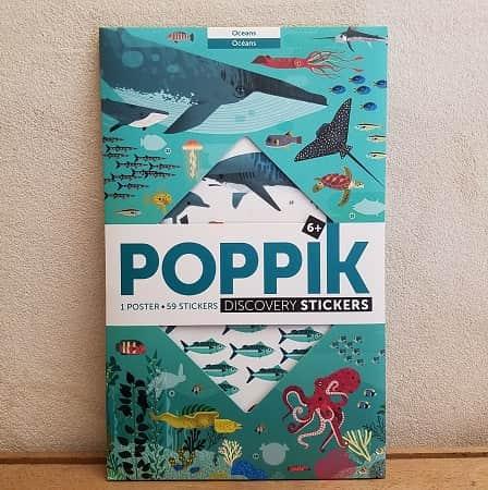 poppik-ocean-loisirs creatifs- activité manuelle - stickers - gommettes