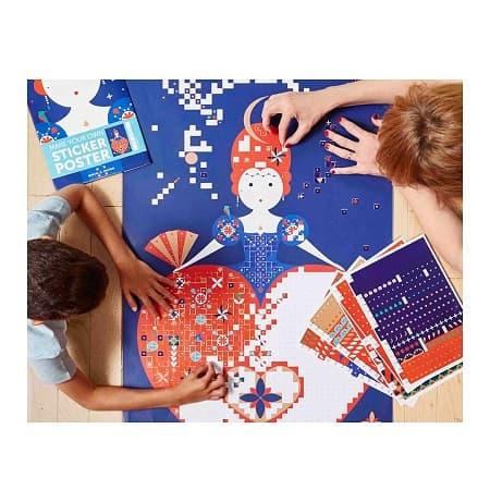 gommettes-activité-enfant-poppik-reine-sticker