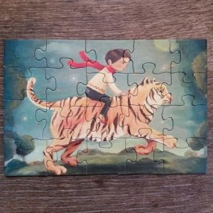puzzle-enfant-new-york-compagnie-dream-world-tiger-dreamer-20-pièces-tigre