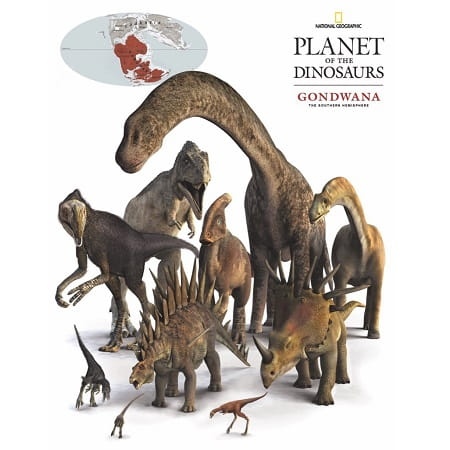 puzzle-enfant-new-york-compagny-national-geographic-100-pièces-dinosaures-gondwana