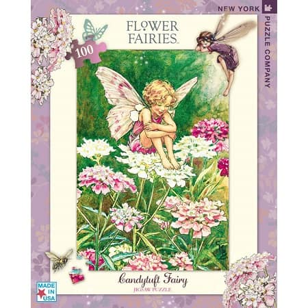 puzzle-flower-fairies-new-york-compagny-candytuft-100-pièces