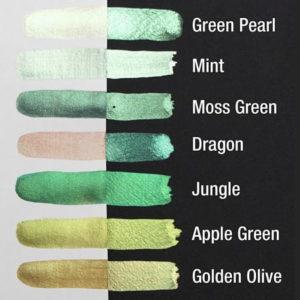 pearlcolors-aquarelle-mica-brillante-nuancier-vert