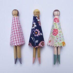 poupée-pince-a-linge-craft-enfant-bricolage