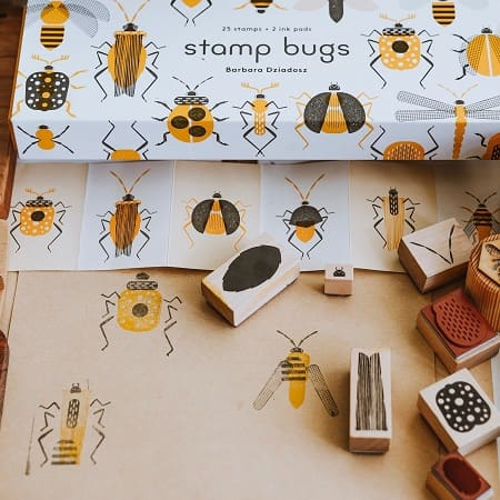 tampon-enfant-bois-insectes-stamps-bugs-princeton-architectural