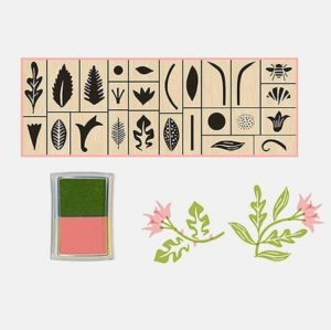 tampon-enfant-bois-jardin-fleurs-garden-stamps- princeton-architectural-press-jouer
