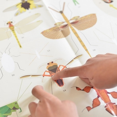 poppik-poster-geant-stickers-insectes-gommettes-activité-enfant