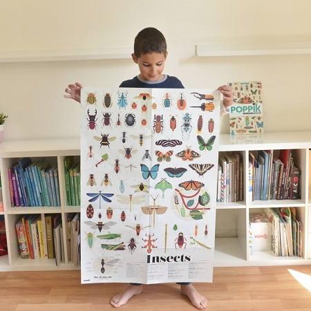 poster-geant-stickers-insectes-poppik-gommettes-activité-enfant-jouer