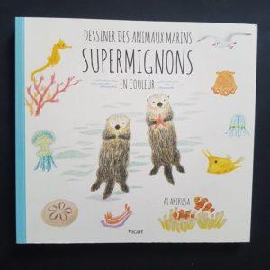 dessiner-des-animaux-marins-supermignons-livre-enfant