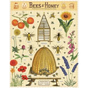 puzzle-1000-pièces-cavallini-abeille-miel