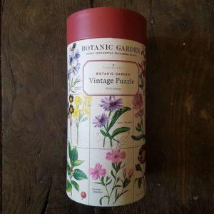 puzzle-1000-pièces-cavallini-botanic-garden
