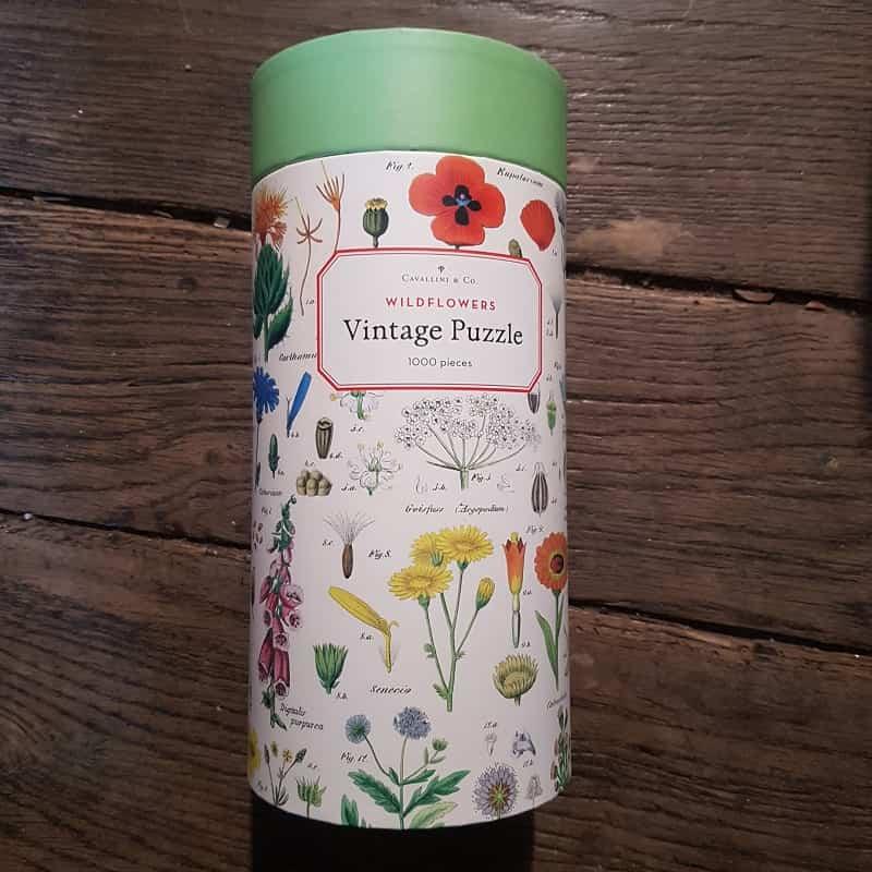 puzzle-1000-pièces-cavallini-wild-flowers