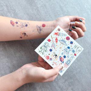 tatouage-tatoo-enfant-paperself-espace
