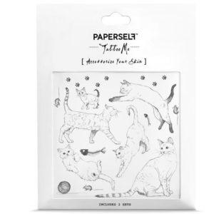 tatouages-ephemeres-tatoo-enfant-chat-paperself