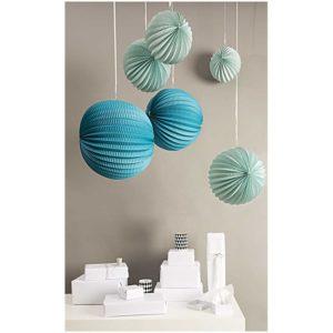 boule-en-papier-suspension-lampion-bleu-rico