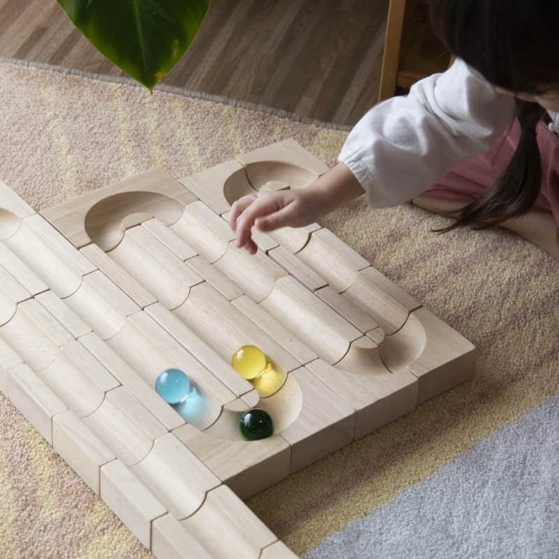 circuit-à-billes-en-bois-bloc-unité-guidecraft-jouet-stem
