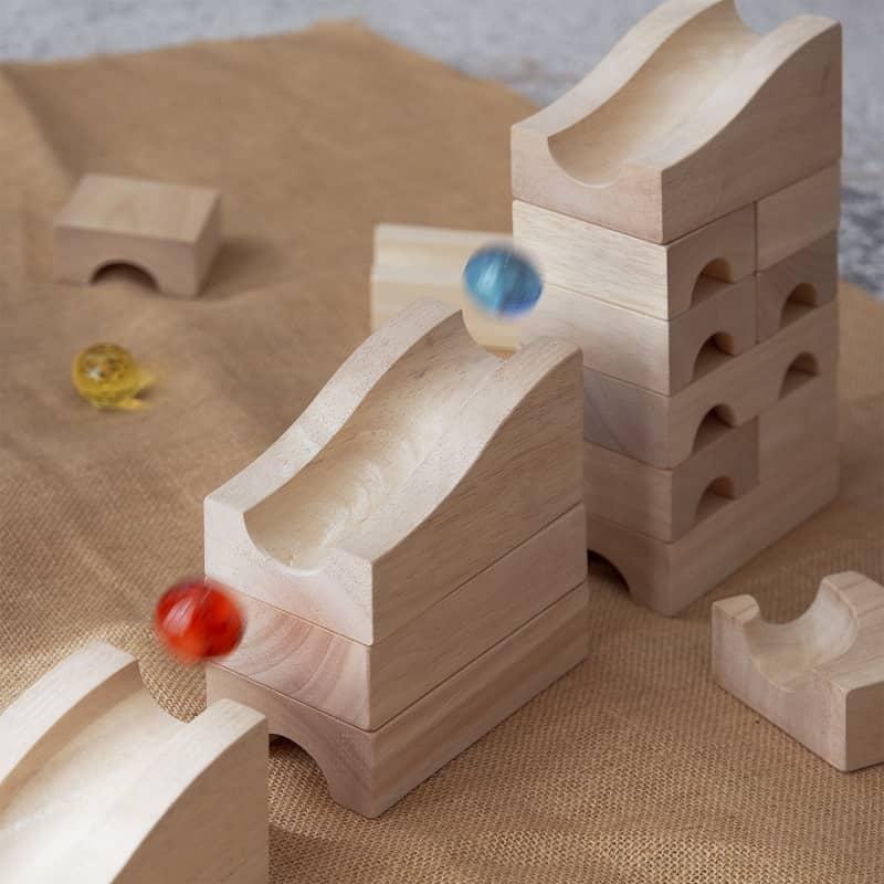 circuit-à-billes-en-bois-bloc-unité-maternelle