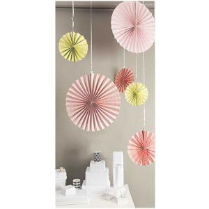 rosace-en-papier-eventailsuspension-decoration-rico-design-nid-ete