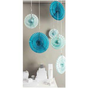 rosace-en-papier-suspension-decoration-rico-design-bleu-nid-abeille