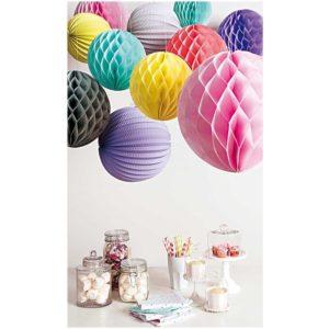 suspenstion-boule-papier-decoration-fete