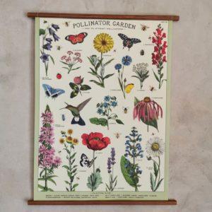 affiche-cavallini-pollinisateur