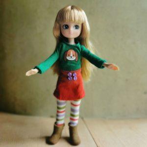 poupée-lottie-mannequin-autumn-leave-feuilles-automne