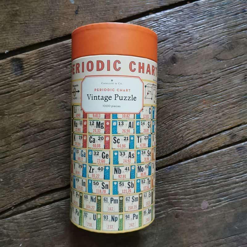 puzzle-1000-pièces-cavallini-tableau-periodique