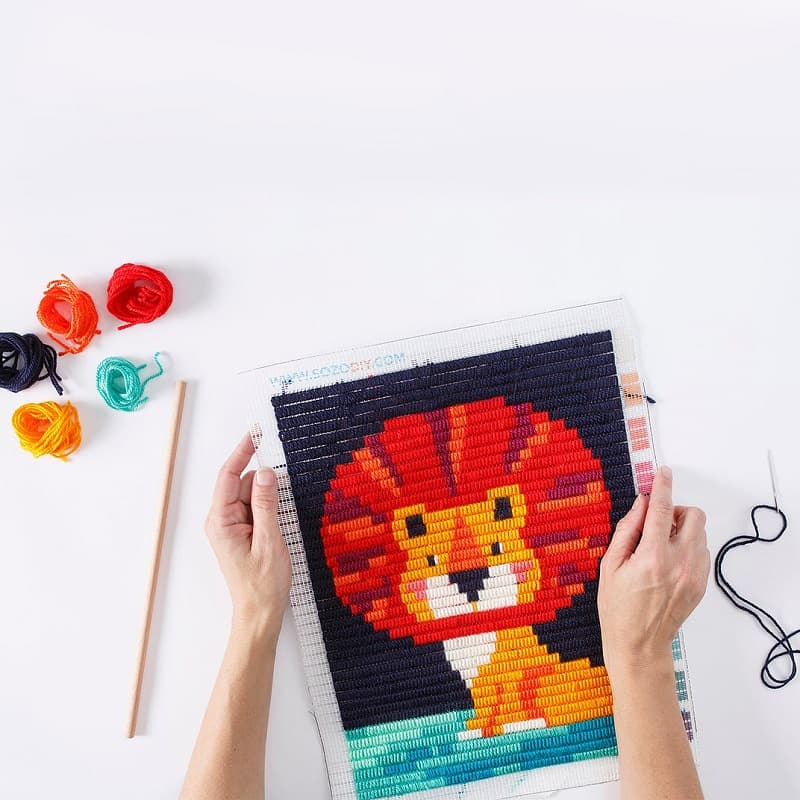 sozo-diy-kit-broderie-enfant-lion