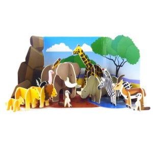 playpress-jouet-ecologique-animaux-savane-carton