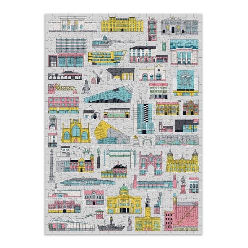puzzle-500-pièces-cloudberries-building-architecture